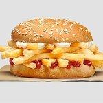 【約140円】NZのバーガーキングで販売の、フライドポテト・バーガーが話題!