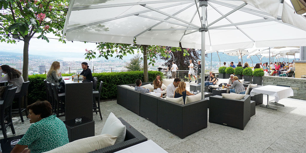 Oliver Rohner on #Google: Great location with a great view over #Zurich. #Food top and service extremely nice and fast. Highly Recommended