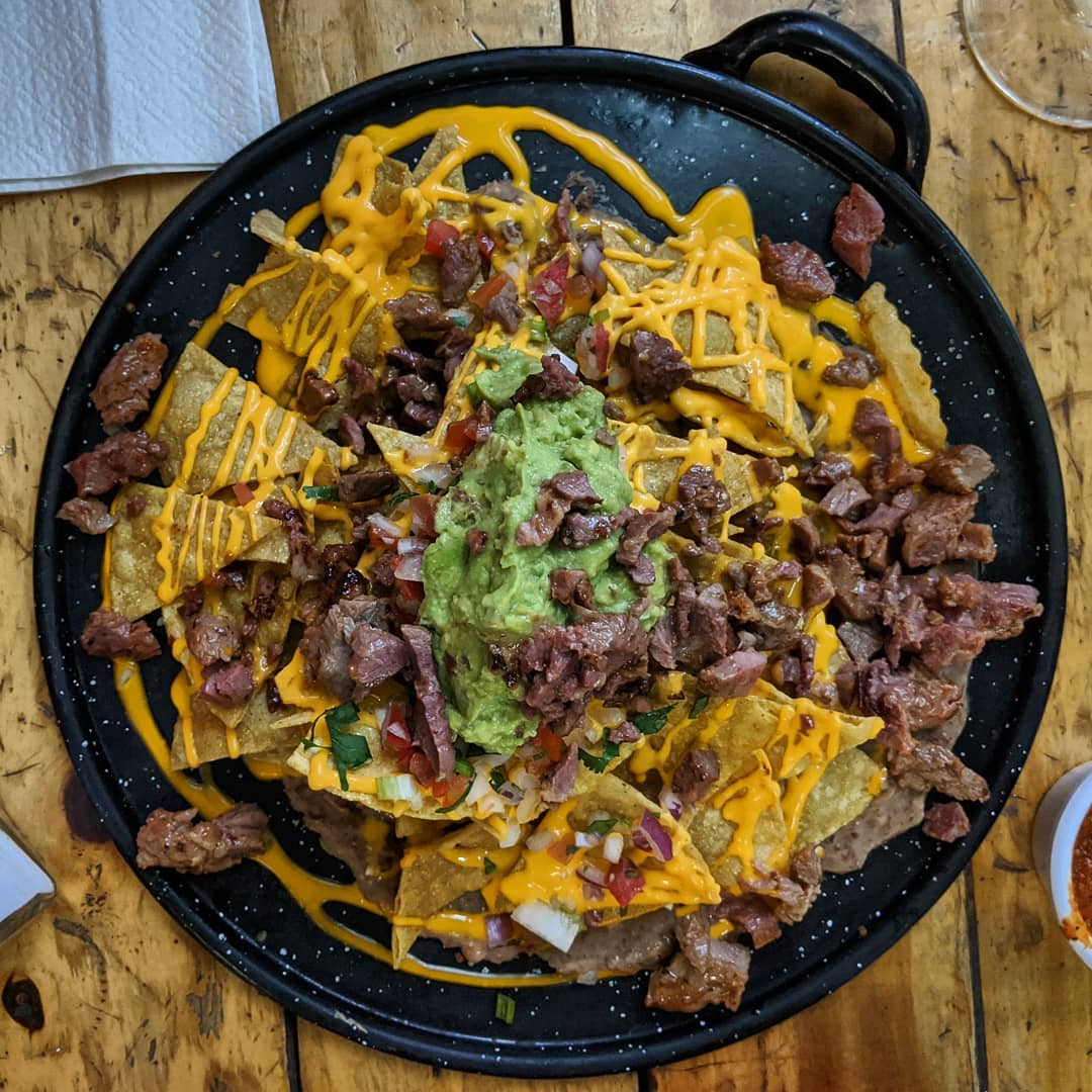 This tasted really good! #mexico #food #foodie #mexicanfood #nachos #cdmx #travel