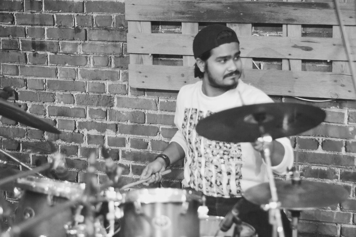 I Play Drums To Silence The Voice In My Head @dwdrums  @SABIAN_Cymbals  @EvansDrumheads  @<br>http://pic.twitter.com/W4iowTtHo6