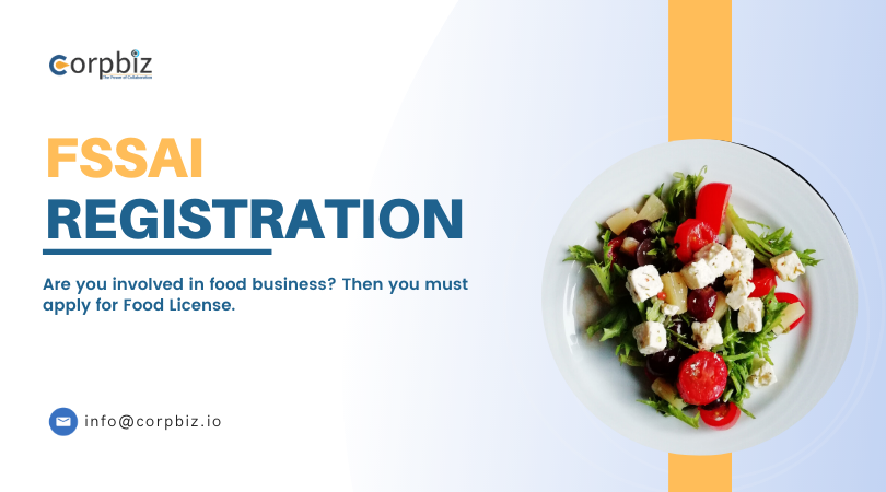 All food traders or #manufacturers or those who involved in the #restaurant #business must obtain this 14 digit FSSAI license or registration which should be printed on their packages of #food they sell. Get Started :   #Corpbiz #FSSAILicense