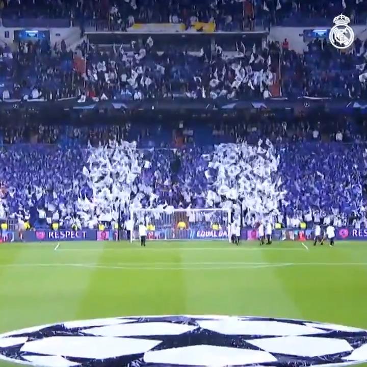 ⚽🏟🔙 ¡El miércoles vuelve la Champions al Bernabéu!  #RMUCL | #HalaMadrid