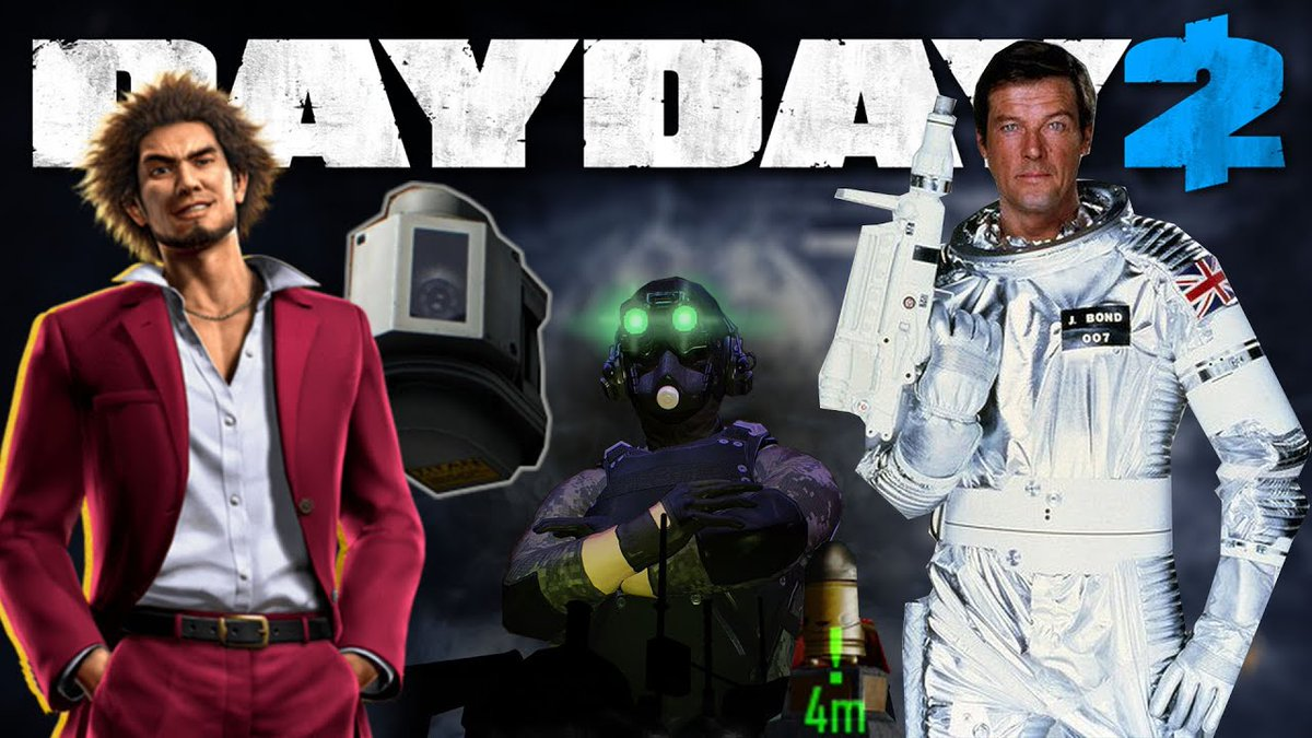 Master Indigo On Twitter New Payday2 Mod Showcase Video Once