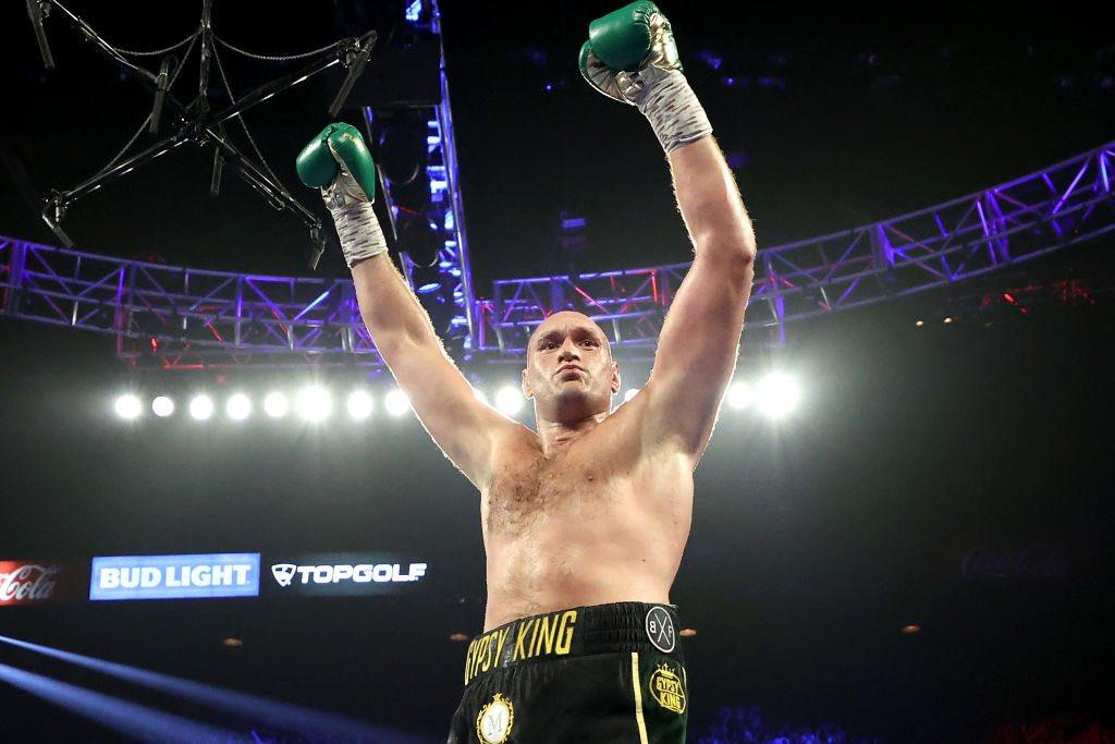 BOOOOM!!! The Gipsy King! Congrats @Tyson_Fury 👏👏👏
