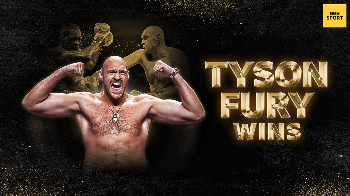 WHAT A PERFORMANCE!   WHAT A FIGHTER!  #FuryWilder2 LIVE: http://bbc.in/392GpaZ #bbcboxing