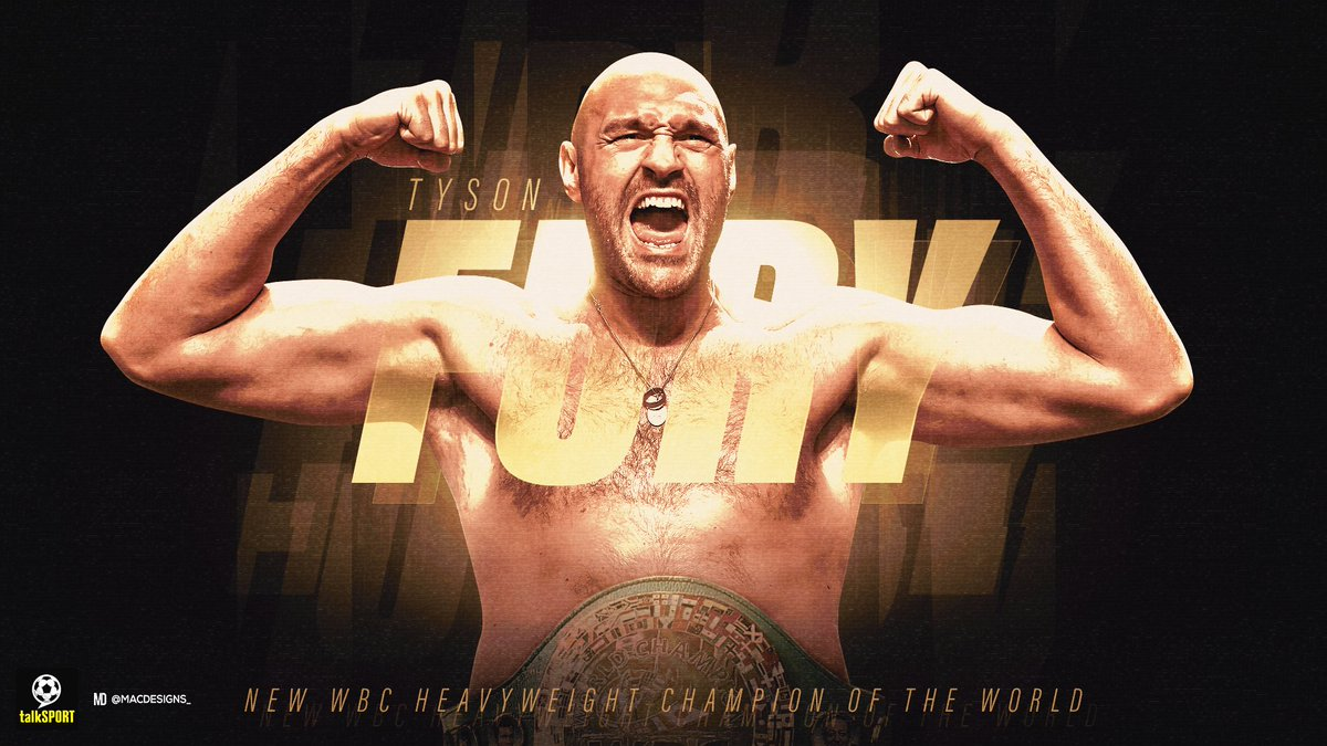 🇬🇧👑 Tyson Fury KNOCKS OUT Deontay Wilder in the seventh round. An incredible, unbelievable performance from the Gypsy King who told us all exactly what he was going to do, then went out and executed it to perfection. The new WBC heavyweight champion.