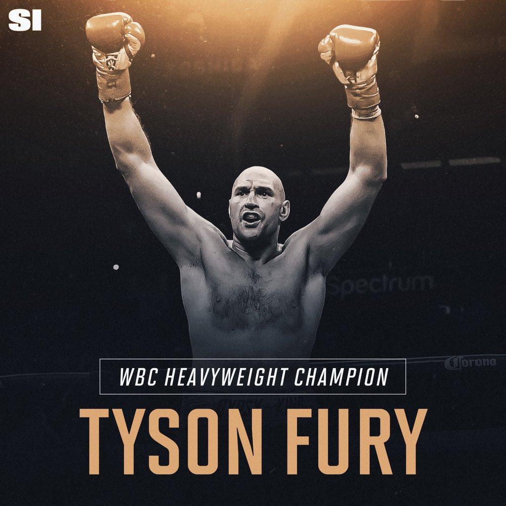 The new WBC Heavyweight Champ 💪 🏆