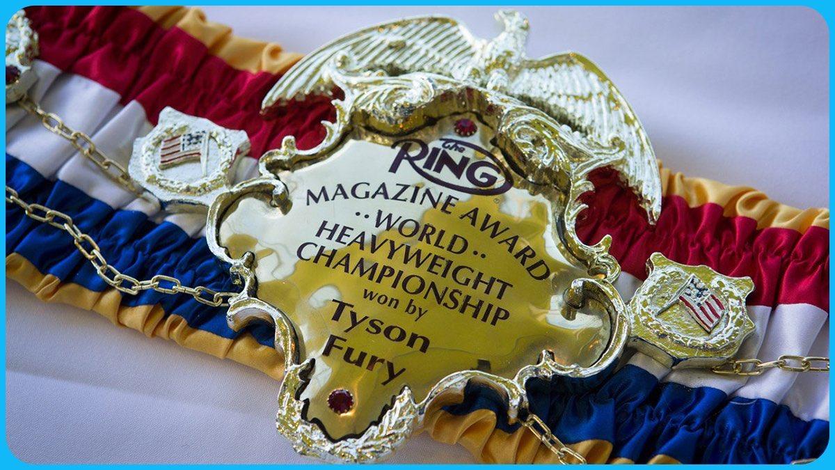 👑 List of heavyweights who have won the Ring Magazine heavyweight title more than once: 1️⃣ Floyd Patterson 2️⃣ Muhammad Ali 3️⃣ Tyson Fury
