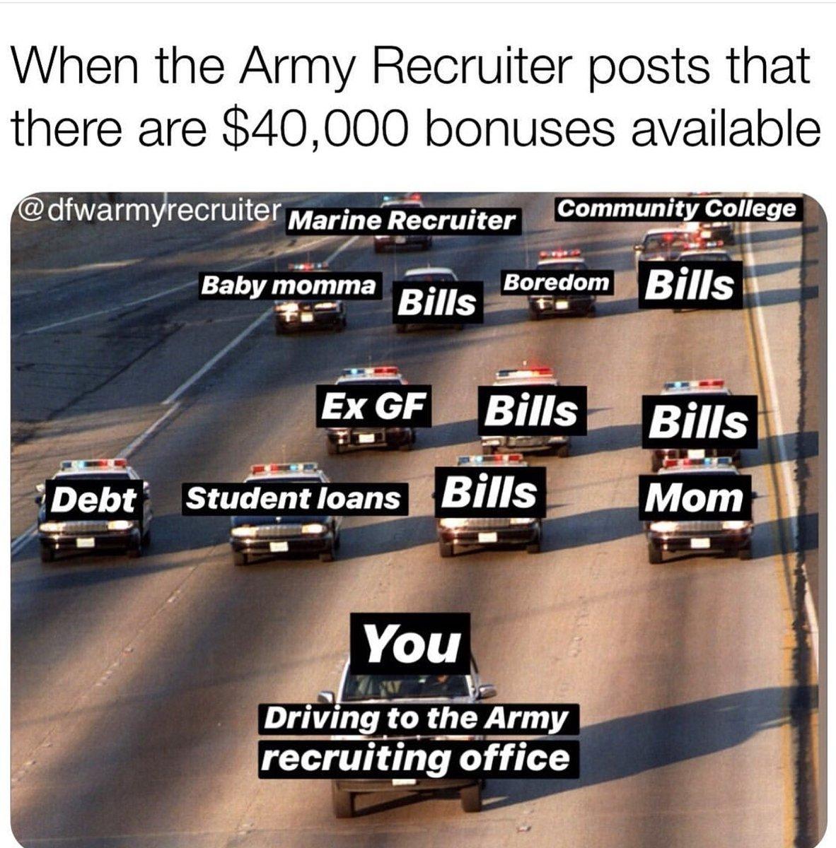 #memed #memez #toledo #memes #meme #dankmemes #collegelife #politics #toledoohio #memes#memepage #memesespañol #memesbr #memesbrasil #memesfordays #memesgraciosos #ohio #cleveland #memesbrasileiros #armyrecruiter #militarymemes #military #militarylifepic.twitter.com/Vg7KjFGO2Z