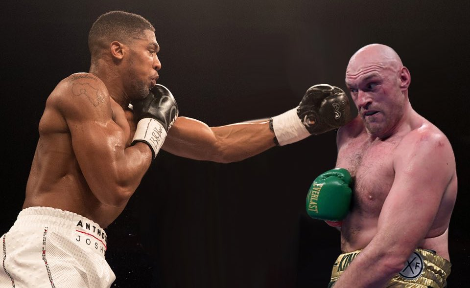 The fight we all want to see next...  Who would win it? 🧐  🔄 RT for @Tyson_Fury  ❤️ Like for @AnthonyFJoshua https://t.co/pZz9KNYVDk