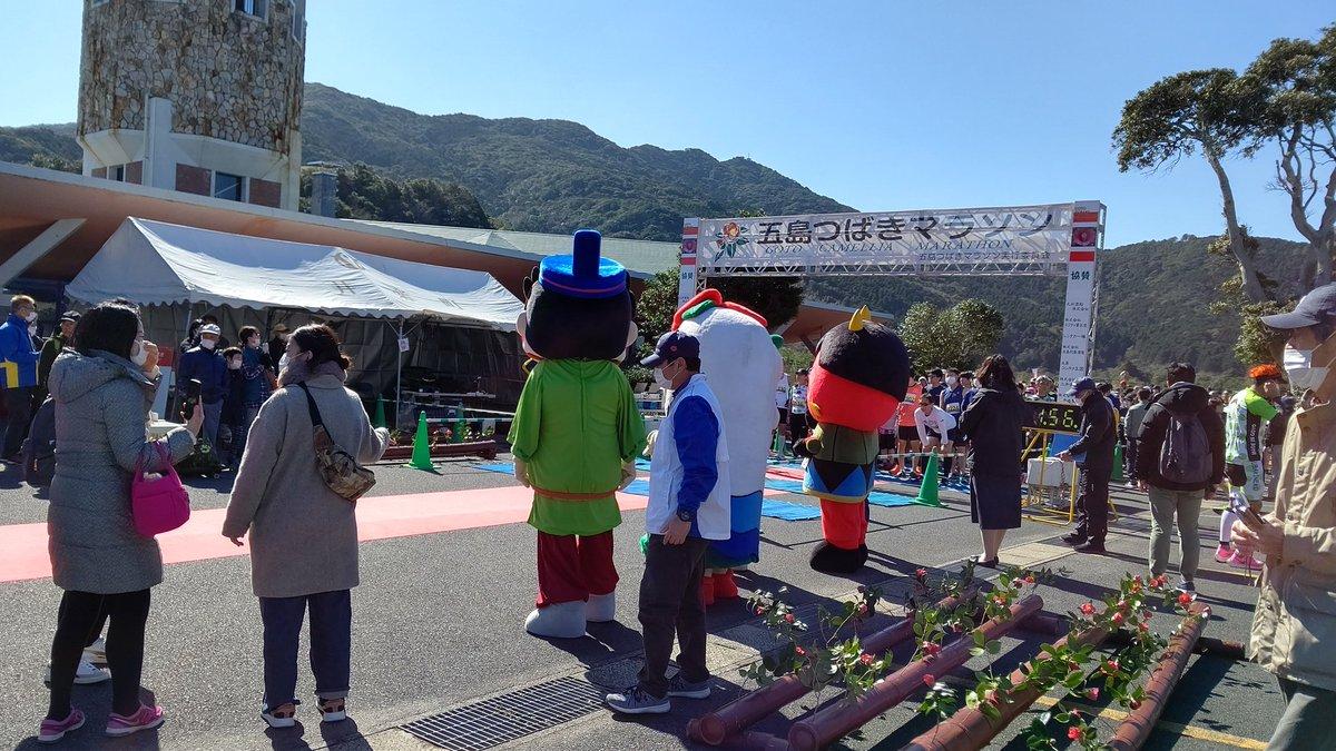 五島 つばき マラソン