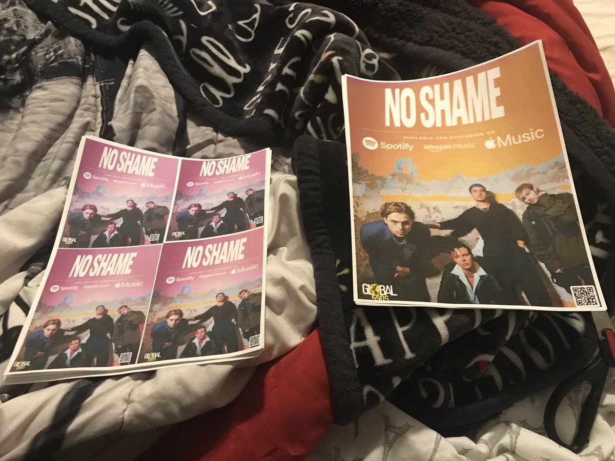 Prep for #NoShame  Promo Day tomorrow  !! pic.twitter.com/l8NKdI2icD