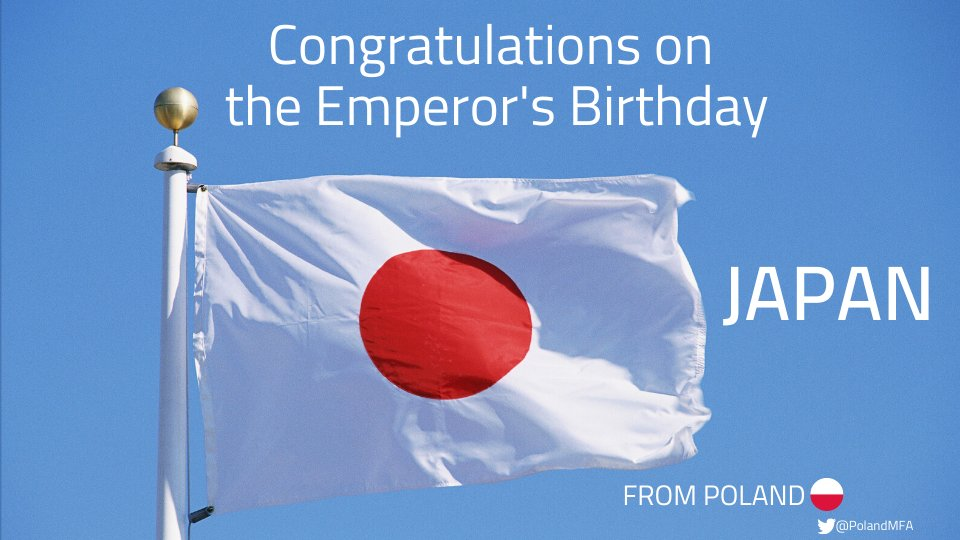 Congratulations on the Emperor's Birthday! Happy celebrations! https://t.co/h7rd1AJZlm