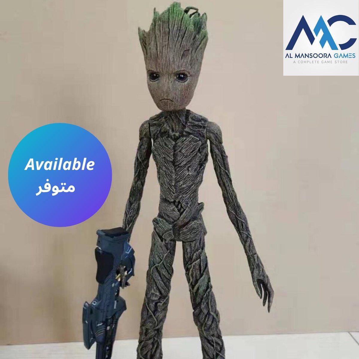 Available in Almansoora shop (Groot) character (متوفر في المحل المنصورة شخصية (غروت 👽🌱🍀🌳🌴 #PS4 #xboxone #Groot #galaxy guardians #character  #doll #game #games #adventure #Review #fortnite  #action #amazing #pc #callofduty  #gaming #gtav #marvel #memes #comics #cool