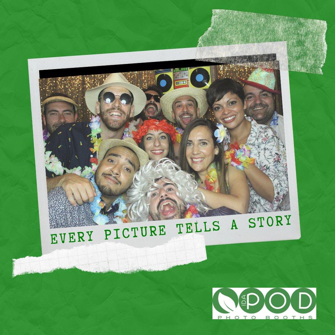 """Every picture tells a story""  Capture your memories with us.  http://www.idapod.com   #weddings #party #corporateevents #birthdayparties #parties #events #eventplanning #celebration #idapodboothhire #funtimes #eventprofs #launches #london #essex #kent #hertfordshirepic.twitter.com/acqdDiiJiJ"