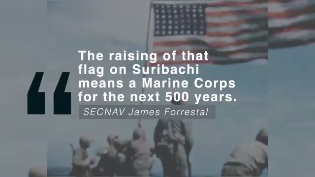 @USMC's photo on Mount Suribachi