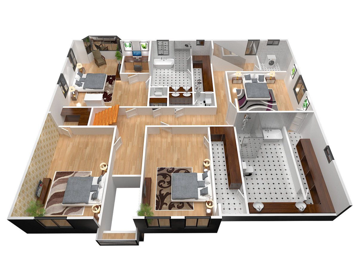 Are you looking for an interior designer or 3d artist? if you want to make your house 3d design then order me here   #3dmodeling #3dfloorplan #3danimation #3drendering #floorplan #interiordesign #exterirodesign #furnituredesign  #topinteriorfloorplan