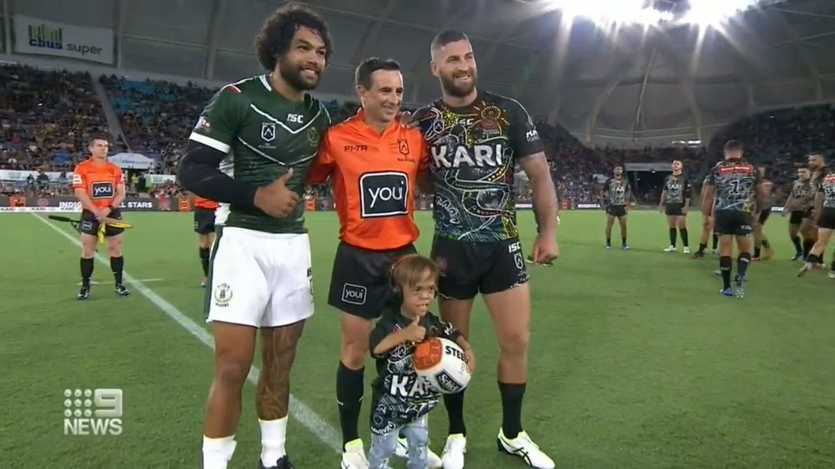 The All Stars clash on the Gold Coast last night was all class as the Maori beat the Indigenous side 30-16. @Danny_Weidler #9News