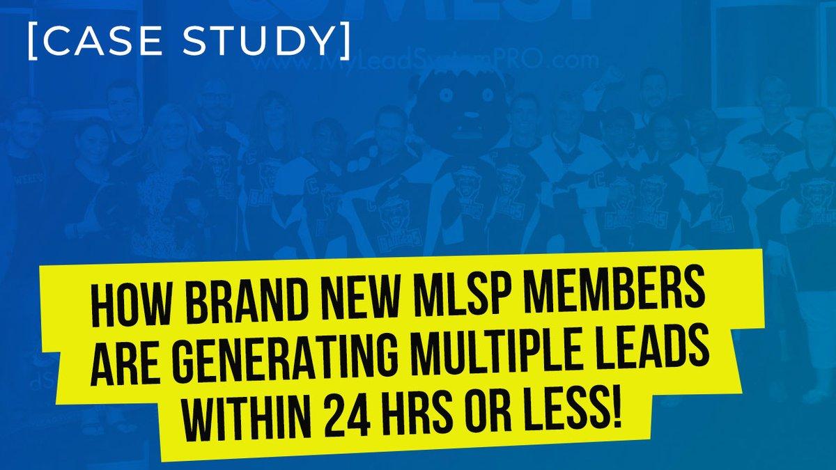 How Brand New MLSP Members Are Generating Multiple Leads Within 24 Hrs or Less! [Case Study] http://bit.ly/GM-blog-6-21  #attractionmarketing #funnelbuilding #funnelhacking makemoney makemoneyonline #affiliatemarketingpic.twitter.com/T4G1PnOZjU