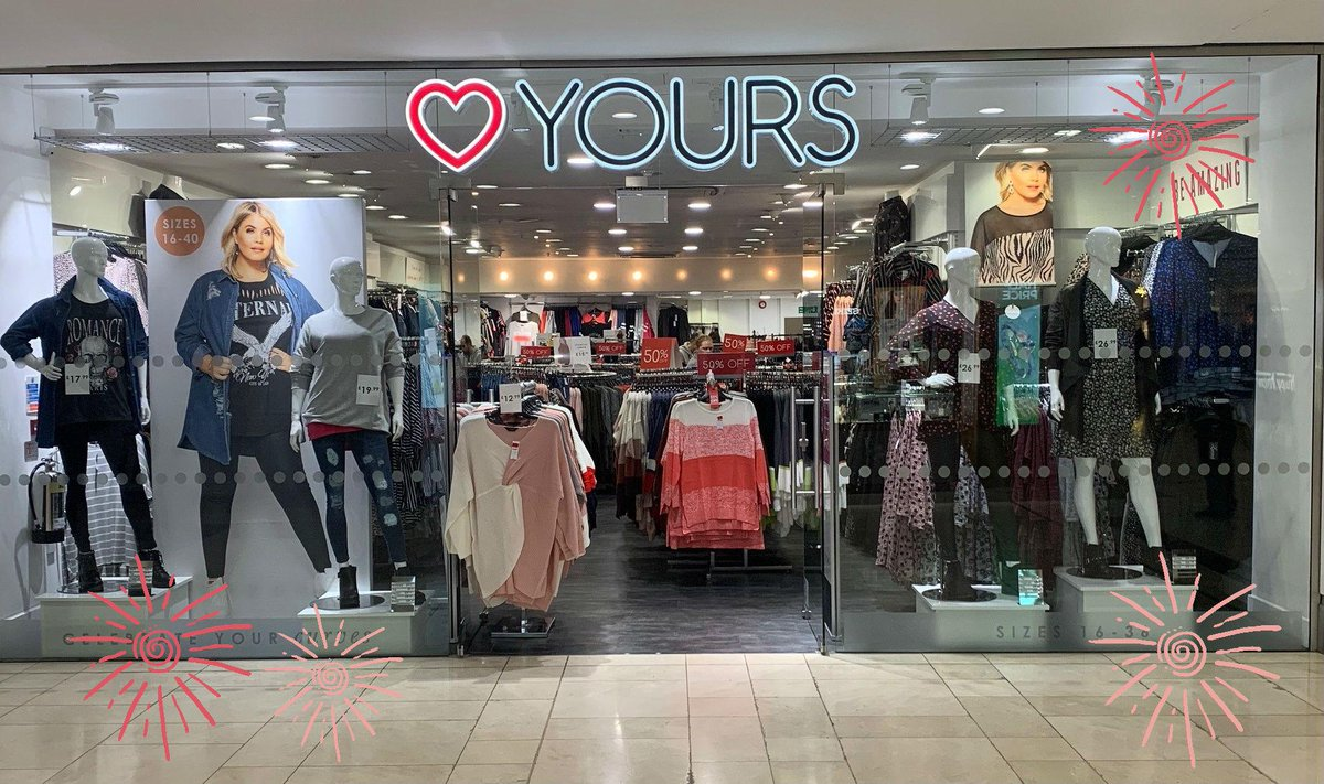 Yours Clothing now has 50% off in store ♥ Visit them today and check out the full range 🎉
