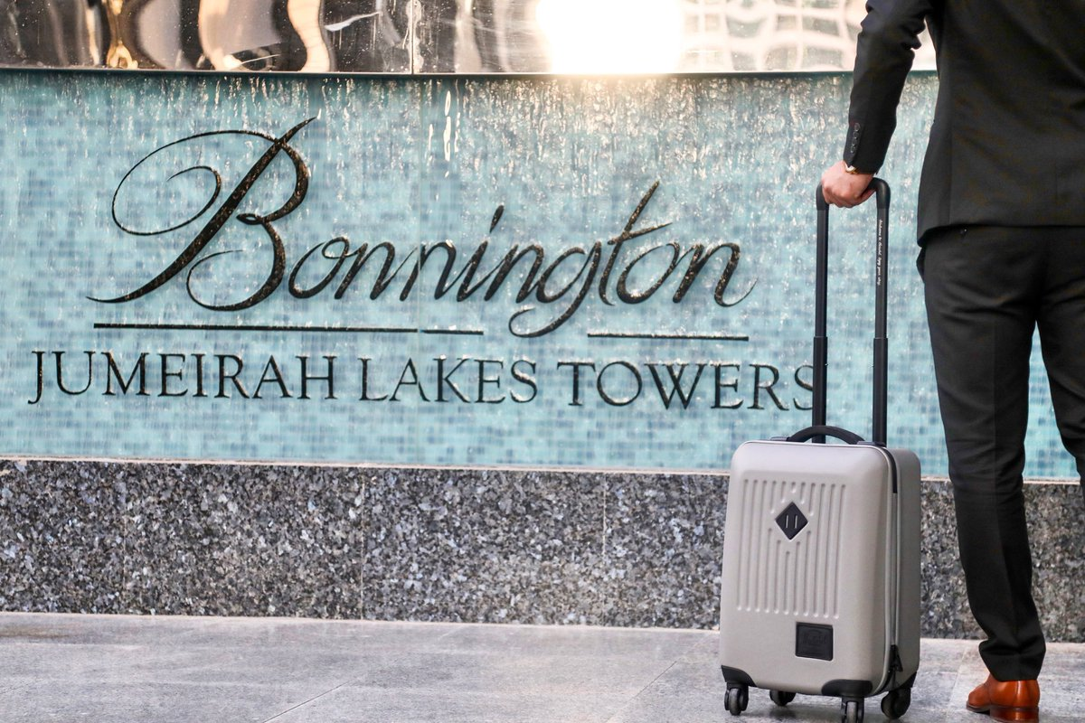 Business stays done right! Ideally located in the heart of Jumeirah Lakes Towers along Sheikh Zayed Road, the #BonningtonTower is an ideal location for tourists and business visitors alike.  #Dubai #VisitDubai #EXPO2020 https://t.co/0HUYX2UvSD