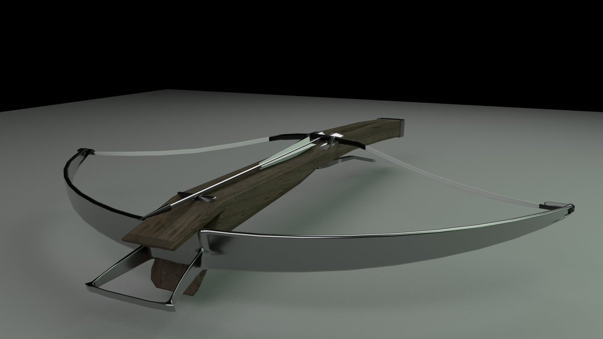 Bit O' speed modelling just for a bit of fun. I'd love to make a high tech futuristic Crossbow, that sounds so sick....   Rendered with Arnold, made in Maya.   #3dart #3dmodeling #indiedev