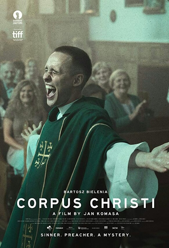 """This year Polish """"Corpus Cristi"""" was nominated for Oscars. It's a very good movie and a bit based on a real story of a guy pretending to be a priest. Bartosz Bielenia is fantastic in a lead role. I have a DVD but if it is available worldwide- I don't know https://youtu.be/cFFvje2A2vEpic.twitter.com/DOwnVvvKvo"""
