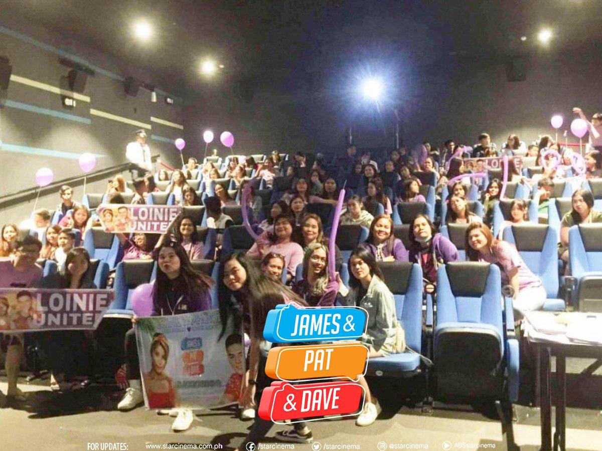 LoiNie United x Loinie Pampanga collbaoration for #JamesAndPatAndDave block screening! #JPDSunFamDATEpic.twitter.com/zK4ZOLdcUu