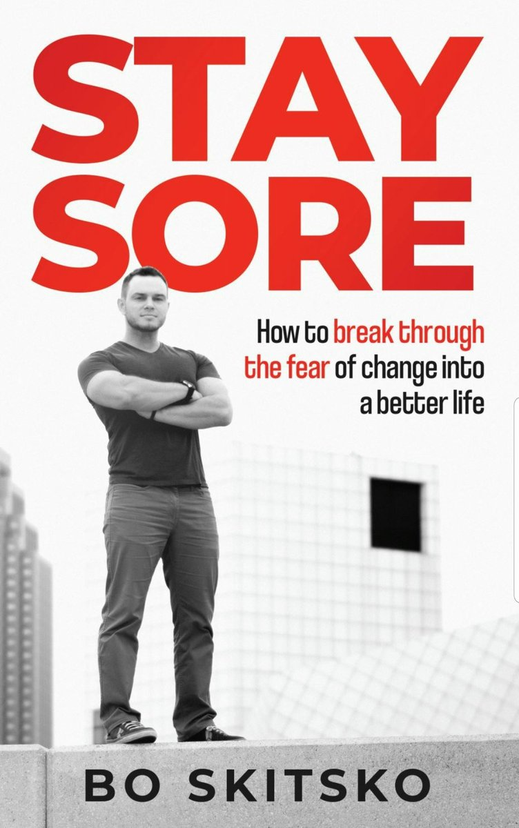 #amreading: Stay Sore: How to Break Through the Fear of Change into a Better Life by Bo Skitsko   Grab YOUR Copy Here: https://amzn.to/39SHjGI via @amazon   #kindle #KindleUnlimited #KindleBooks #kindlepaperwhite #KindleFire #kindlebook #KindleBargain #kindlelove #kindleaddictpic.twitter.com/IUGCWTIp6g