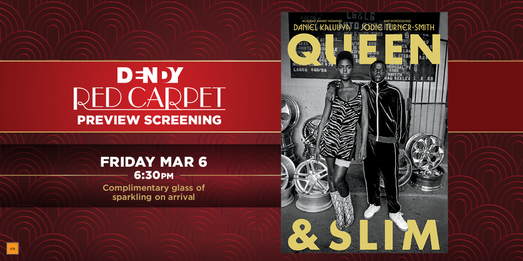 Thank you for this journey, no matter how it ends.  QUEEN & SLIM red carpet screening MAR 6.   Book now: http://bit.ly/2ttHOYjpic.twitter.com/UQ053VjDBF