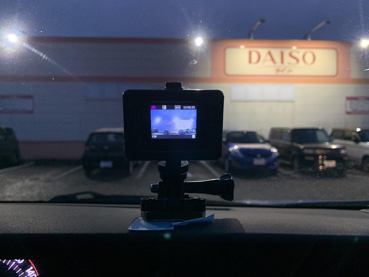 出かける時もアクションカメラを装着❗️  何事も仕事に繋げる貪欲さが大事☝️  今日は最安値アクションカメラの実力は❓  って事でめっちゃ安いアクションカメラを到着です👍  #アクションカメラ