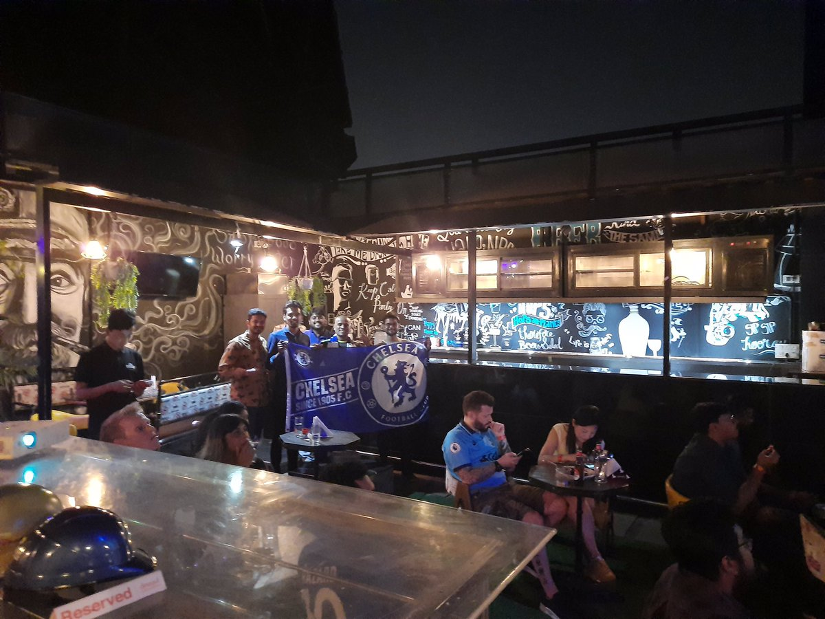 Thanks to all the Bengaluru Blues who made to the screening. We enjoyed the league double over Spurs.   FT : Chelsea 2-1 Tottenham Hotspur   #CISC #Chelsea #ChelseaIndia #CHETOT #KTBFFH #EPL #DERBY #TheRealSpecialOnepic.twitter.com/tWxYrD7v28