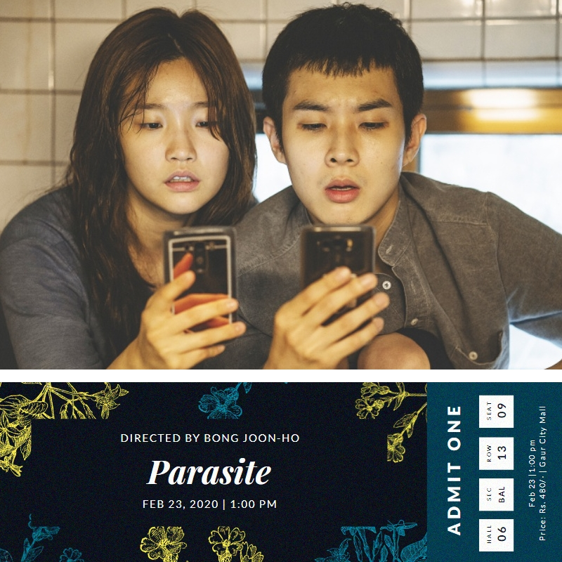 Finally managed the time to book my tickets today for #Parasite #AcademyAwards winner for #BestFilmOfTheYear #bestdirector #bestoriginalscreenplay & #bestinternationalfeaturefilm  Hoping to enjoy the movie as much as the Reviews for the Film says it to be. #ParasiteMoviepic.twitter.com/sg78IbwHRS