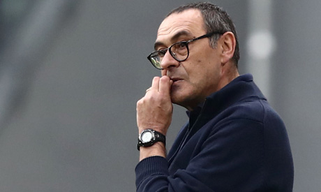 #Juventus coach #Sarri angry over VAR confusion english.ahram.org.eg/News/363973.as…