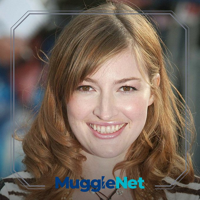 Happy birthday to Kelly Macdonald, who played Helena Ravenclaw in the films.