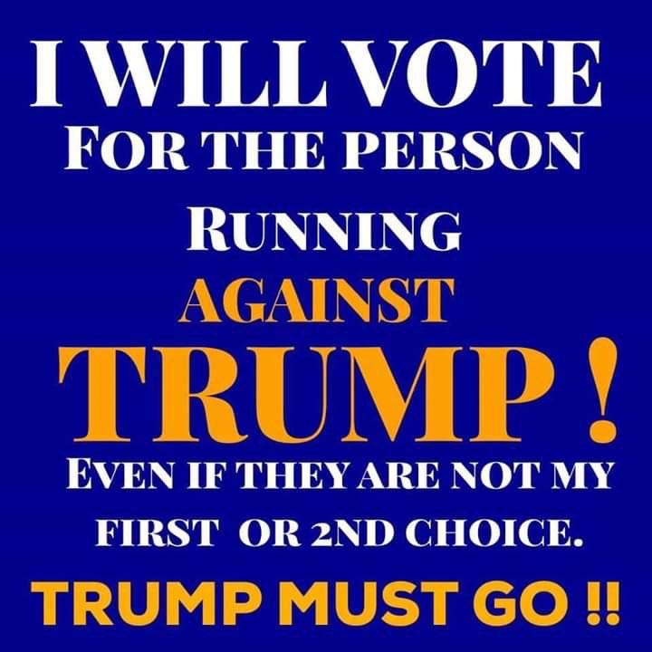 🔹🔷 Make Trump One Term 🔷🔹 #WomenCanStopTrump  #VoteBlueNoMatterWho  @Kerr_Kurr  @kellabel  @sergeivote  @ConnieG1025  @VictoriaLAlbers  @margie_strike  @HalmMary  @OReasonStands  @BrendaBalazs  @raynadragon  @HondoResists  @SusanSD_34891  @DJZJCZ  @JavaStrick  @TimTerminator1