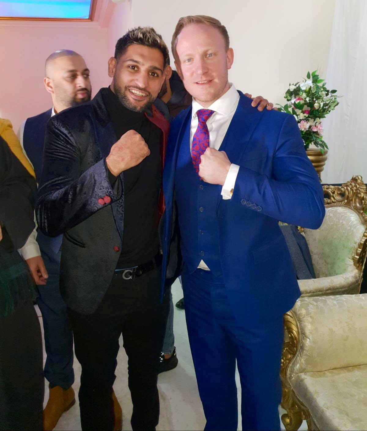 """Sam Tarry MP on Twitter: """"Thanks to @amirkingkhan for coming to Ilford last night to help raise funds for the Jamia noor ul Quran Masjid and community centre. Great plans ahead for"""