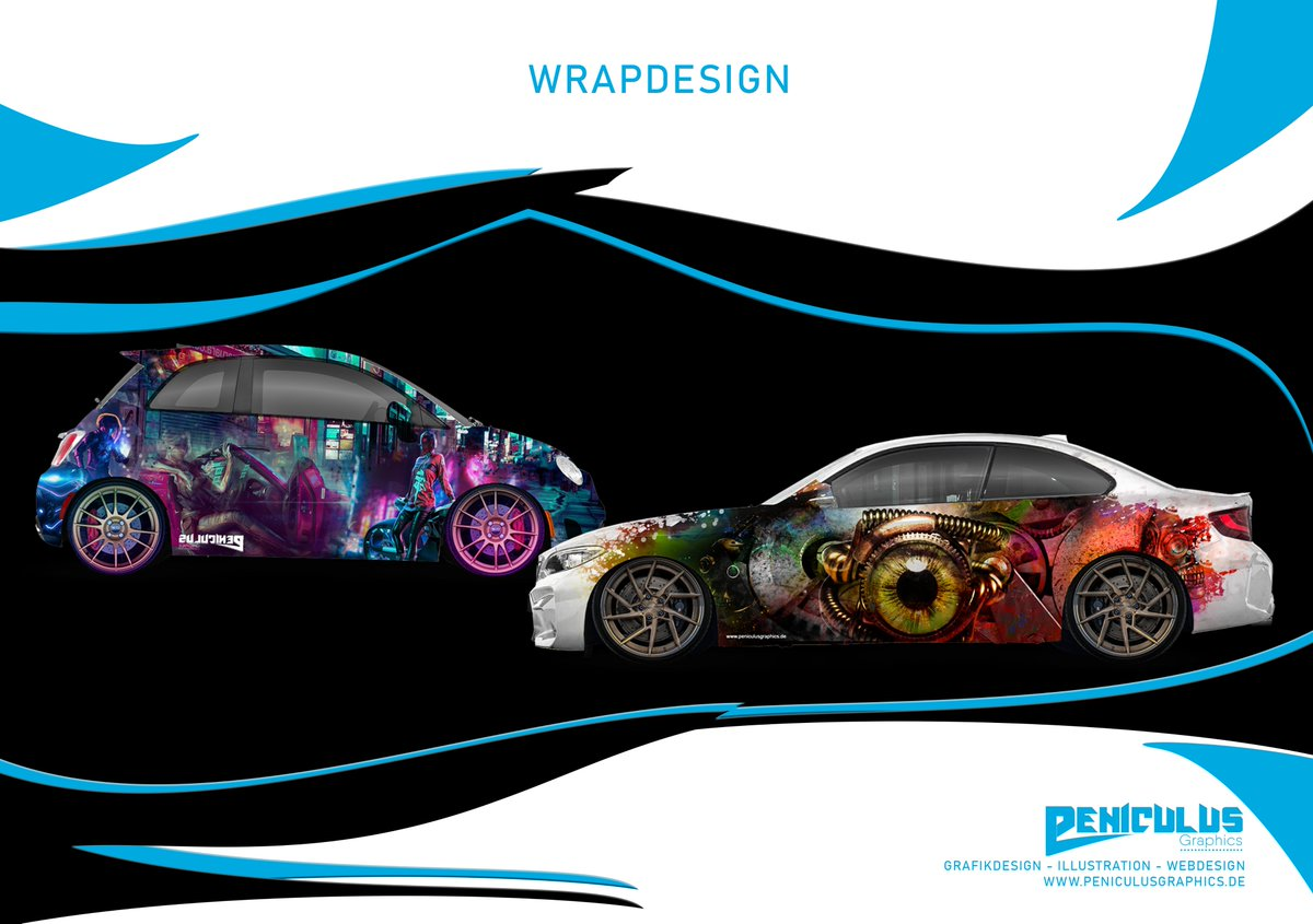 Und hier mal wieder was aus unserer Grafikschmiede, dies und viele weitere Designs können bei uns angefertigt werden. http://www.peniculusgraphics.de   #wrapdesign #wrap #car #cardesign #berlin #grafikdesign #digitaldruck #digitalart #artdesign #grafikdesign #firmenwagen #foliepic.twitter.com/Gswhl6X2eW