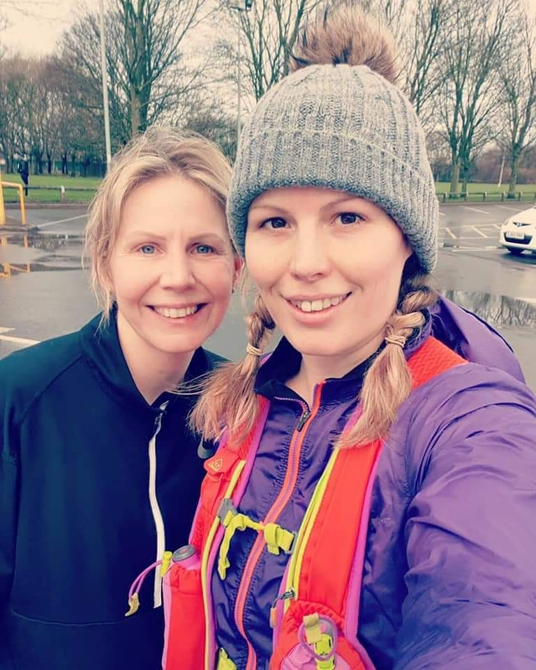 15 miles marathon training today from these two ladies.  Well done.  #TheRoadToManchester   #TeamVPRC #MilesWithSmiles #Running #Warrington #C25k #10km #5km #HalfMarathon #Marathon #Runner #Run #Cardio #Fitness #Exercise #Cheshire #Workout #VictoriaPark #InstaRun