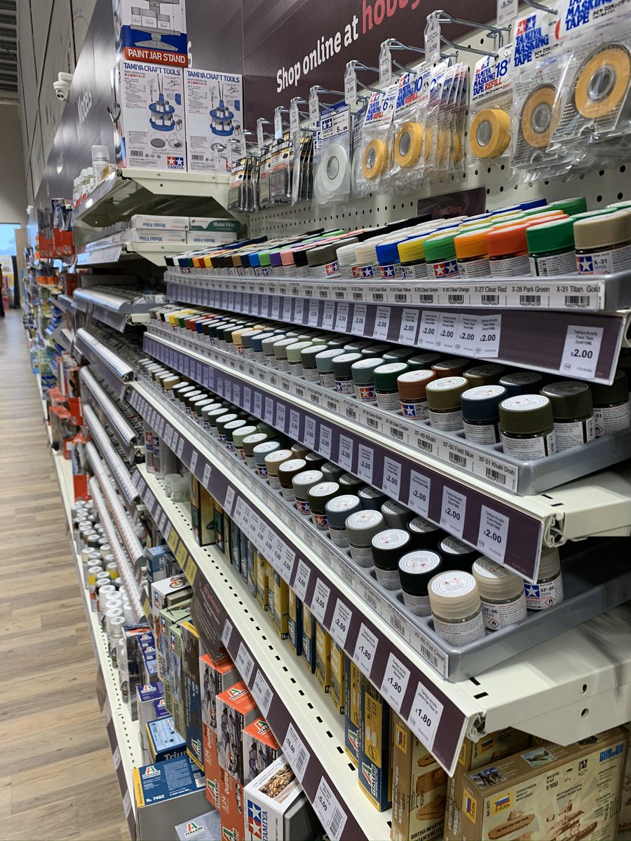 We've got a huge range of model paints in store including Tamiya, Revell and Humbrol paints. You'll find everything you need to paint your models right here #Newtownabbey<br>http://pic.twitter.com/IYtDWysWGR