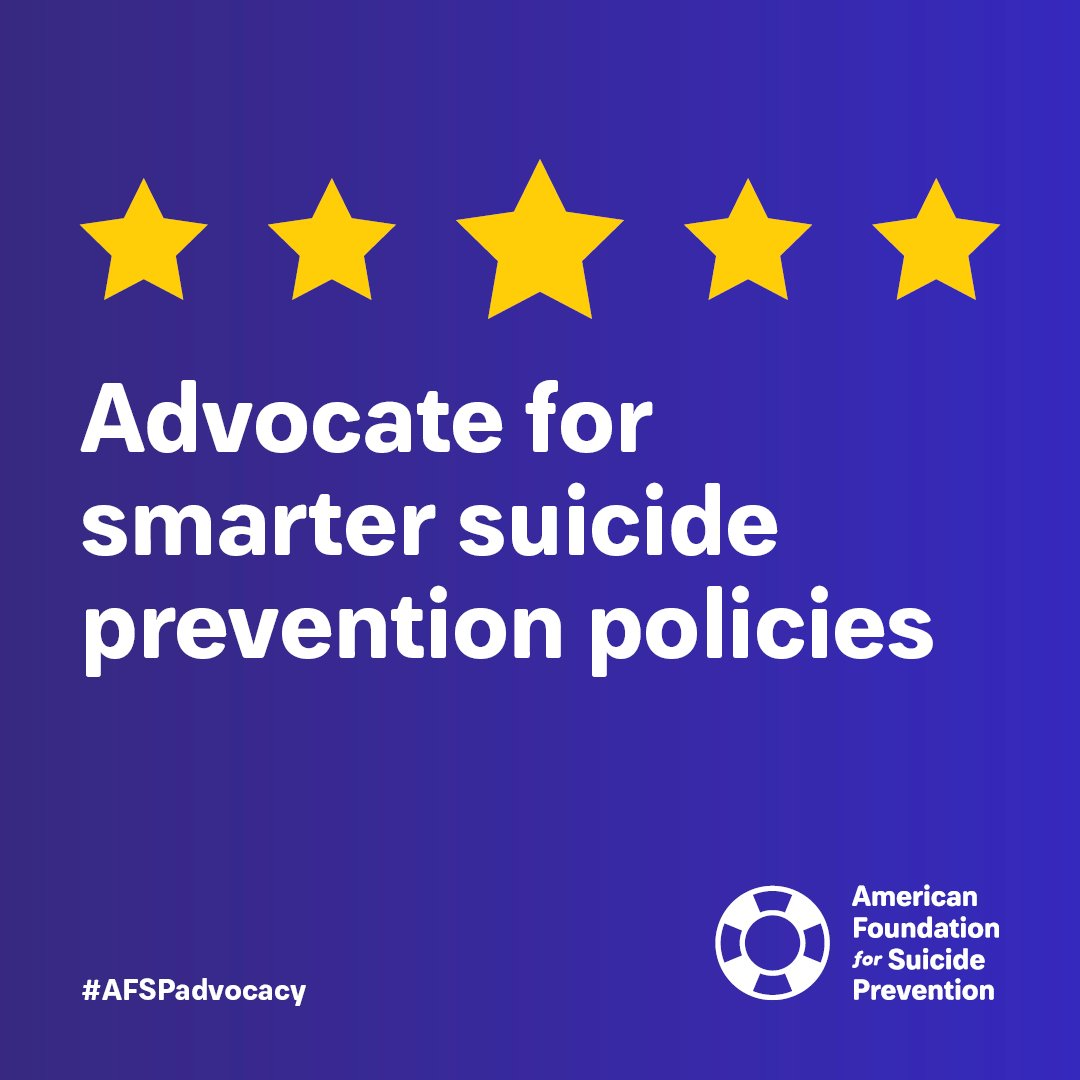 Join us on April 7th in Harrisburg to advocate for smarter mental health and suicide prevention policies! #AFSPadvocacypic.twitter.com/4QcjpOkhWj