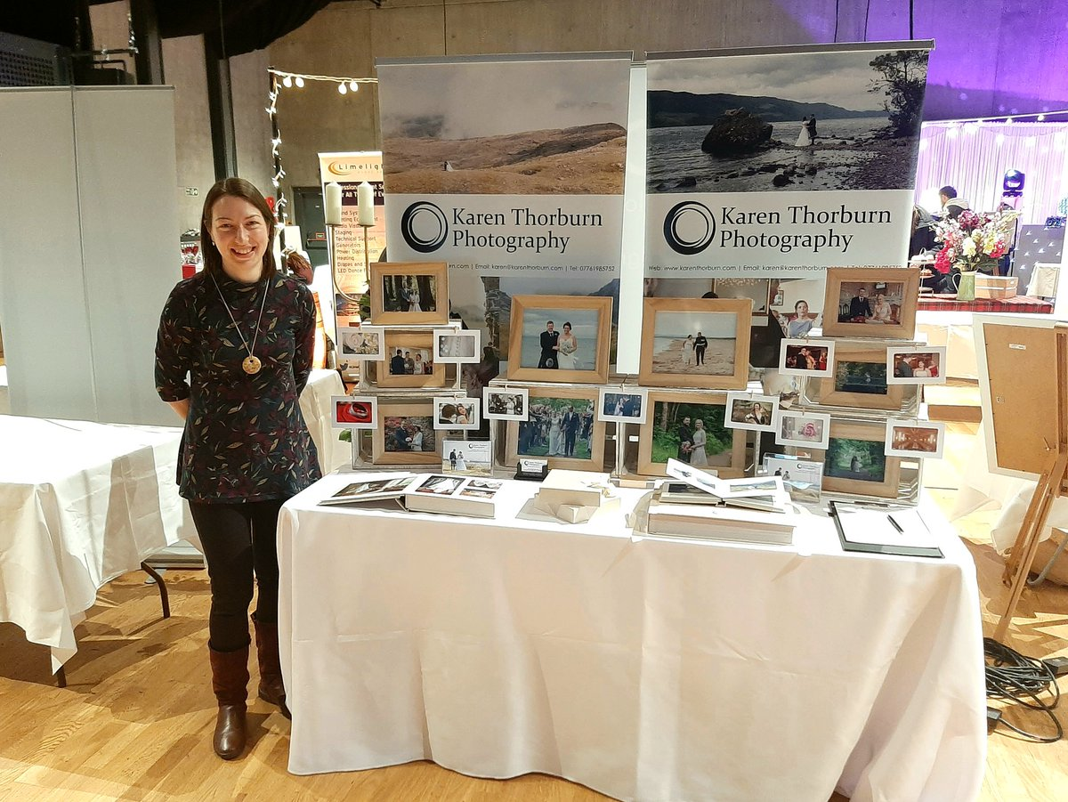 I'm exhibiting at the Highland #weddingfair between 12-4pm today. Pop along to my stand for a friendly chat about your #weddingphotography! #karenthorburnphotography #weddingphotographers #weddingphotographer #invernesswedding #highlandwedding #scottishwedding #weddingideaspic.twitter.com/juZ8c3lWkZ