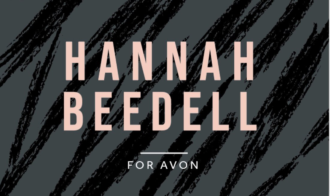 """Why not join my very own Avon Facebook page for great offers, deals, reviews and items soon to be coming out soon & not forgetting great feedback from my lovely customers :- """"Hannah Beedell Avon"""" #avon #facebook #loveavon #followme #thankyou #thankful"""