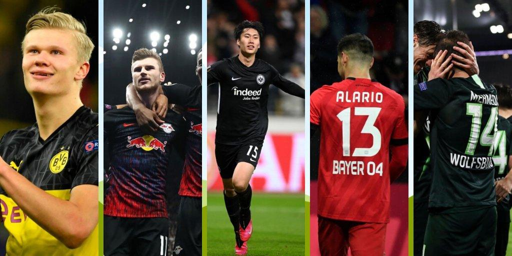 La semana perfecta 👌 de los equipos alemanes 🇩🇪 en Europa 🇪🇺  #️⃣ #UCL #UEL  ✍️ @DerCamilo  🖥 http://bit.ly/2T8YGfN