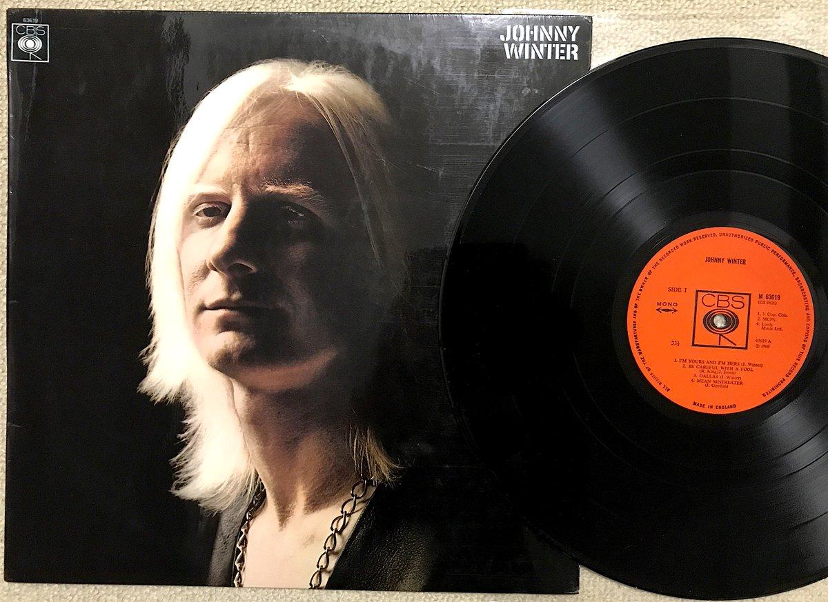 (●゚∀゚)ノ♭゚'・:*♪:.Happy Birthday Johnny.:♪*:・'゚♭ヾ(゚∀゚○)   存命ならば76歳 ということでこれから🎶 ジョニーのレコはシングル以外でmono盤というのはこれだけだと思う このUK盤はラミネートジャケ  #JohnnyWinter #HBD #vinyl #mono #ジョニー・ウィンター #100万ドルのギタリスト