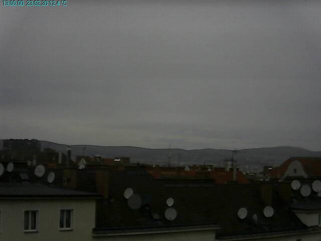 Aktuelle #Wetterdaten aus #Wien - #Favoriten 13:00 Uhr: Temp: 12.4C, Feuchte: 66%, Taupunkt: 6C, max. Temp: 14.7C, min Temp: 9.6C, Böe letzte Std: 45.0 kmh   S, max Böe: 53.7 kmh, Windrichtung: SW, Druck: 1017.5 hPA stark fallend, Regen: 0,0 mm, Sonnenschein: 00:19 Std.
