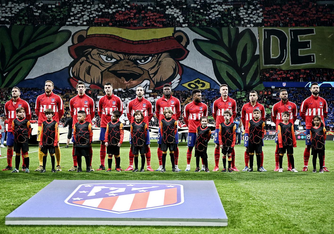 El once del Atlético de Madrid el martes ante el Liverpool (Foto: ATM).