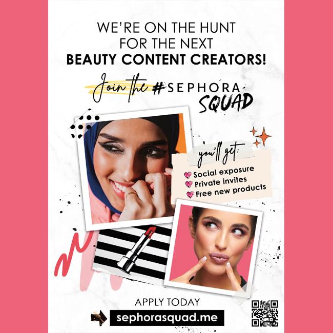 Sephora: Are You Ready to Join the #SephoraSquad?    #SEPHORASQUAD #شلة_سيفورا #Sephora #Lashes #LashDay #Falsies #Mascara #Beauty #Makeup  #tagsforlikes #instadaily #instagood #instacool #instafollow #instalove #f4f #followforfollow #webstagram #godubai