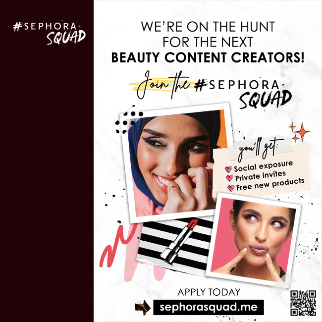 Sephora: Are You Ready to Join the #SephoraSquad?    #SEPHORASQUAD #شلة_سيفورا #Sephora #Lashes #LashDay #Falsies #Mascara #Beauty #Makeup  #tagsforlikes #instadaily #instagood #instacool #instafollow #instalove #f4f #followforfollow #webstagram #kuwaitpr