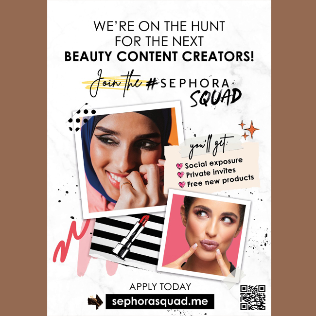 Sephora: Are You Ready to Join the #SephoraSquad?    #SEPHORASQUAD #شلة_سيفورا #Sephora #Lashes #LashDay #Falsies #Mascara #Beauty #Makeup  #tagsforlikes #instadaily #instamood #instagood #instacool #instafollow #instalove #webstagram #worldprnetwork